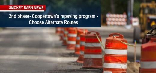Road Work ALERT Coopertown
