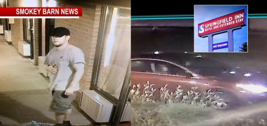 Suspect On The Run After 4th Of July TV Heist At Springfield Inn