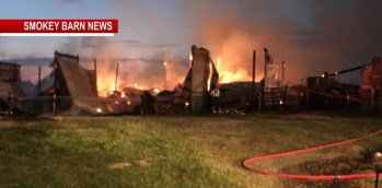 Barn With 300 Rolls Of Hay Ignites In Portland