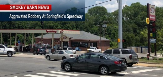 Customer Held By Hair At GunPoint In Aggravated Robbery At Springfield's Speedway
