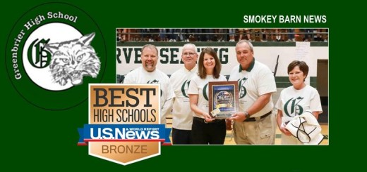 Greenbrier High: Named Top Performing US School