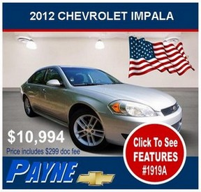 Payne 2012 Impala 1919A 288