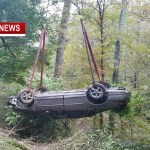 Rollover Crash Uncovers Second Mysterious Crash Site On Lahr Rd