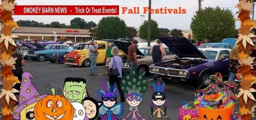 """Trunk Or Treat"" & Fall Fun Events (2018) In & Around Robertson County"