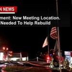 Fire Destroys Post 206 But Not Their Spirit- Temp Location & Fundraiser set