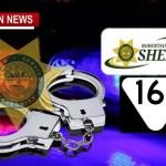 Sheriff Nets Gun/Drugs Responding To Burglary Call Near Springfield