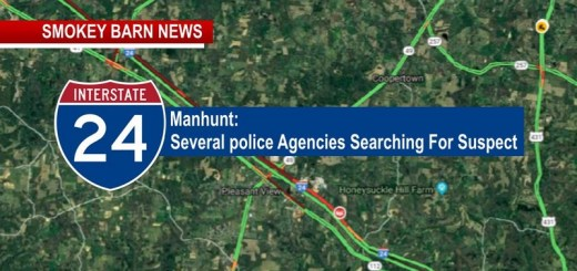 Manhunt Slows I-24 Traffic In Robertson County