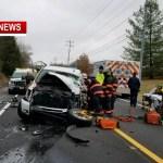 Hwy 49 Near Coopertown Shut Down Following Crash