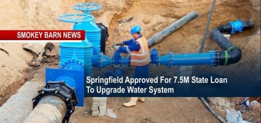Springfield Gets 7.5M State Loan To Upgrade Water System