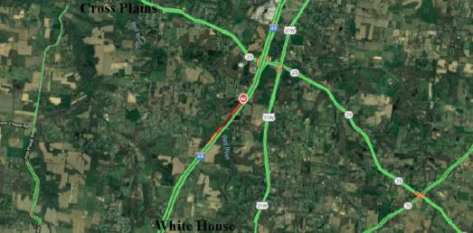 TRAFFIC ALERT: I-65 (S) Slow Following Three Vehicle Crash