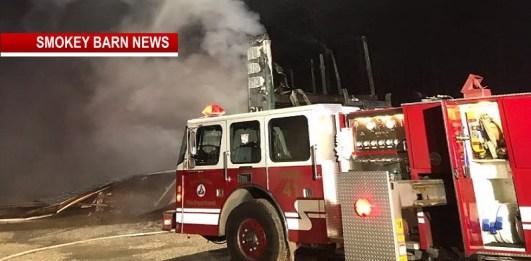Cross Plains Fire Destroys Yates' Cave Event Barn
