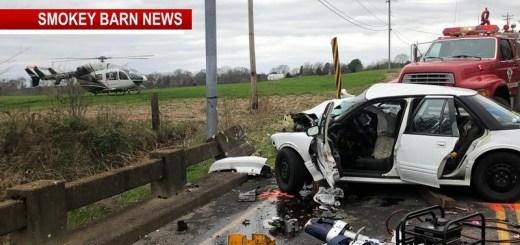 Driver Life-flighted After KinneysRd Crash Near Springfield