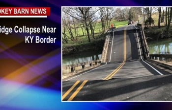 Bridge Collapse Closes Highland Rd Near KY Border