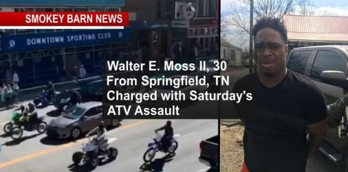 Springfield Man Arrested In ATV Dragging AssaultOf Metro Officer