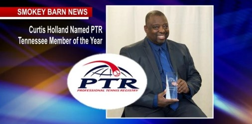 Curtis Holland Named PTR Tennessee Member of the Year
