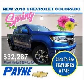 Payne 2018 Chev Colorado 1743 288px