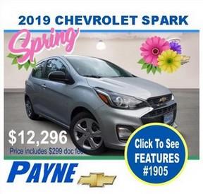Payne 2019 Chev Spark 1905 288px