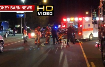 Pedestrian Struck By Car Crossing Street At Night-2nd Time In 3 Weeks