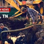 "Adams Water Main Break UPDATE ""A Team Effort"""