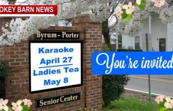 Karaoke Night & Ladies Tea/Lunch Coming To Orlinda's Sr. Center