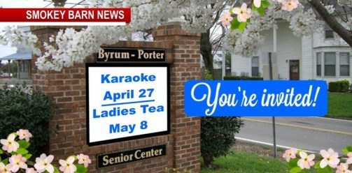 Karaoke Night & Ladies Tea/Lunch Coming To Orlinda's Sr. Center