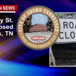 Adams Closes Murphy St. Railroad CROSSING