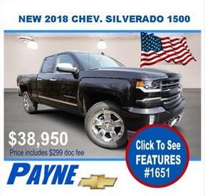 Payne 2018 Silverado 1651 288