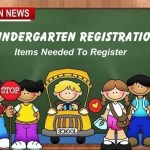 Kindergarten Registration Coming Up, Items Needed To Register