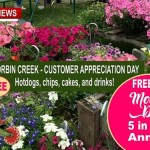 Fun, Food & Flowers This Saturday At Corbin Creek Greenhouse