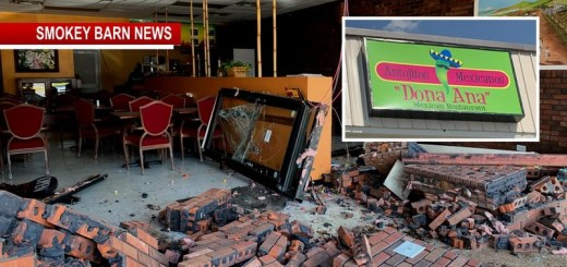 Customers Showered In Glass And Brick When Pickup Crashes Into Springfield Restaurant