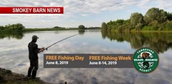 FREE Tenn. Fishing Week Begins June 8, 2019 (NOT June 1st)