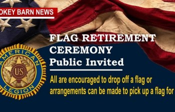 Flag Retirement Ceremony (Bring Your Flag)