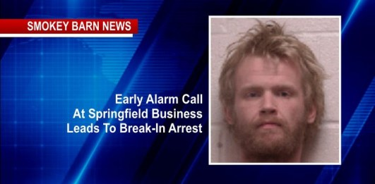 Early Alarm Call At Springfield Business Leads To Break-In Arrest