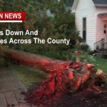 Storm Damage Across Robertson County Friday Evening