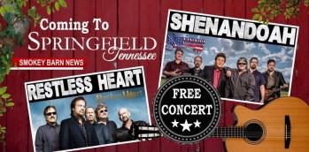 Shenandoah & Restless Heart To Perform At Springfield's Bicentennial
