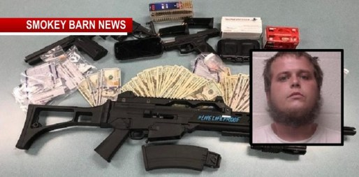 Guns, Drugs and Ammo Seized In Springfield Traffic Stop