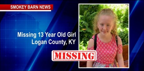 Authorities Searching For Missing 13-year-Old Logan County Girl