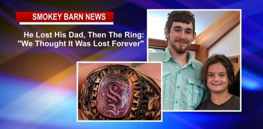 "He Lost His Dad, Then The Ring: ""We Thought It Was Lost Forever"""