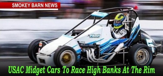 USAC Midget Cars To Race High Banks At The Rim Saturday Night