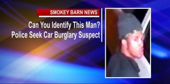 Can You Identify This Man? Police Seek Car Burglary Suspect