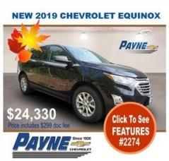 Payne 2019 Chev Equinox 2274 288