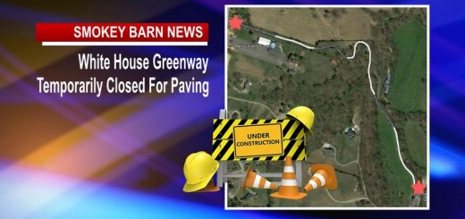 White House Greenway Closed For Paving