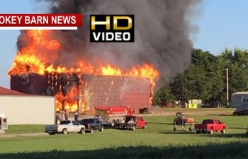 Large Fire Destroys Barn And 8 Acres Of Tobacco Product