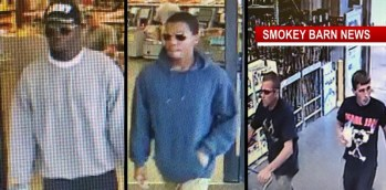 Theft Suspects On The Run After Two Businesses Targeted
