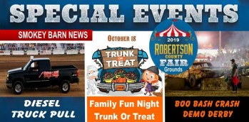 Coming to RC Fairgrounds->Truck Pull-Trunk Or Treat & Demo Derby