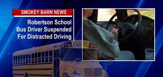 Robertson School Bus Driver Suspended For Distracted Driving
