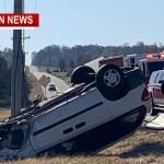 Rollover Crash Slows 49 Traffic Near Coopertown