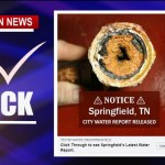 Ads Suggest Robertson Water Contaminated