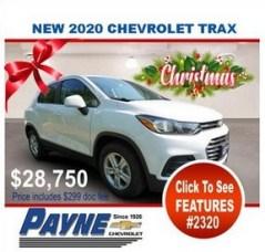 Payne 2020 Chev trax 2320 288px