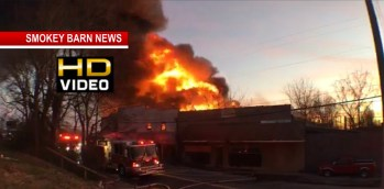 Massive Fire Destroys Springfield Business